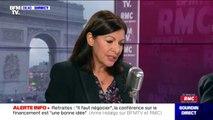 """Anne Hidalgo: """"Paris a montré qu'on se relève tout le temps"""""""