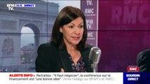 """Anne Hidalgo annonce un """"aménagement"""" des Champs-Élysées, avec """"des plantations d'arbres place de l'Étoile et à proximité de la Concorde"""""""