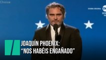 El discurso de Joaquin Phoenix en los Premios Critic's Choice