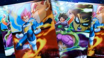 Dragon Ball Super Broly - Unboxing de las cartas metalizadas de la película