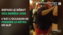 La journée sans pantalon a permis aux usagers d'être (très) à l'aise dans le métro