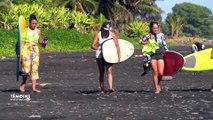 Polynésie Française : Le yoga surf
