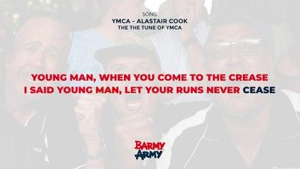 YMCA - Alastair Cook