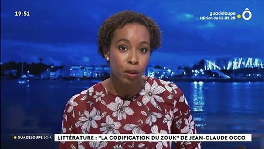 """2020 - journal du soir en Guadeloupe sur le livre """"la codification du Zouk"""" by Occo Style"""