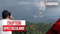 Philippines : une éruption volcanique spectaculaire