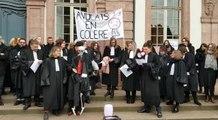 70 avocats protestent à Colmar