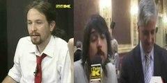 Cuando Pablo Iglesias y Ramón Espinar 'le hacían la pelota' al prófugo exvicepresidente de Bolivia