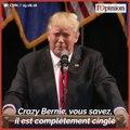 Présidentielle américaine: un sondage favorable à Bernie Sanders agace Donald Trump