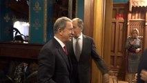 Türk ve rus heyetlerin moskova'daki 'libya' görüşmesi başladı