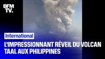 Les images de l'impressionnant réveil du volcan Taal aux Philippines et ses conséquences