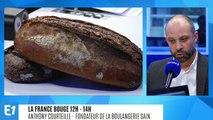 """La France bouge : Anthony Courteille, fondateur de """"Sain"""", une boulangerie où l'on peut voir le pain en train d'être pétri à la main jusqu'à sa cuisson"""