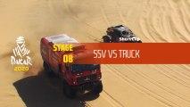 Dakar 2020 - Étape 8 / Stage 8 - SSV vs Truck