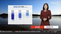 [날씨] 내일 아침 영하권 추위…중북부 한파주의보
