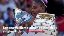 Serena Williams Wins First Singles Title in Three Years and Donates Prize Money to Bushfire Relief Efforts