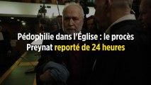 Pédophilie dans l'Église : le procès Preynat reporté de 24 heures