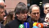 """Puigdemont: """"España no respeta las reglas del Estado de derecho europeo"""""""