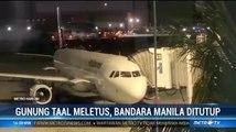 Imbas Letusan Gunung Taal, Bandara Manila Ditutup