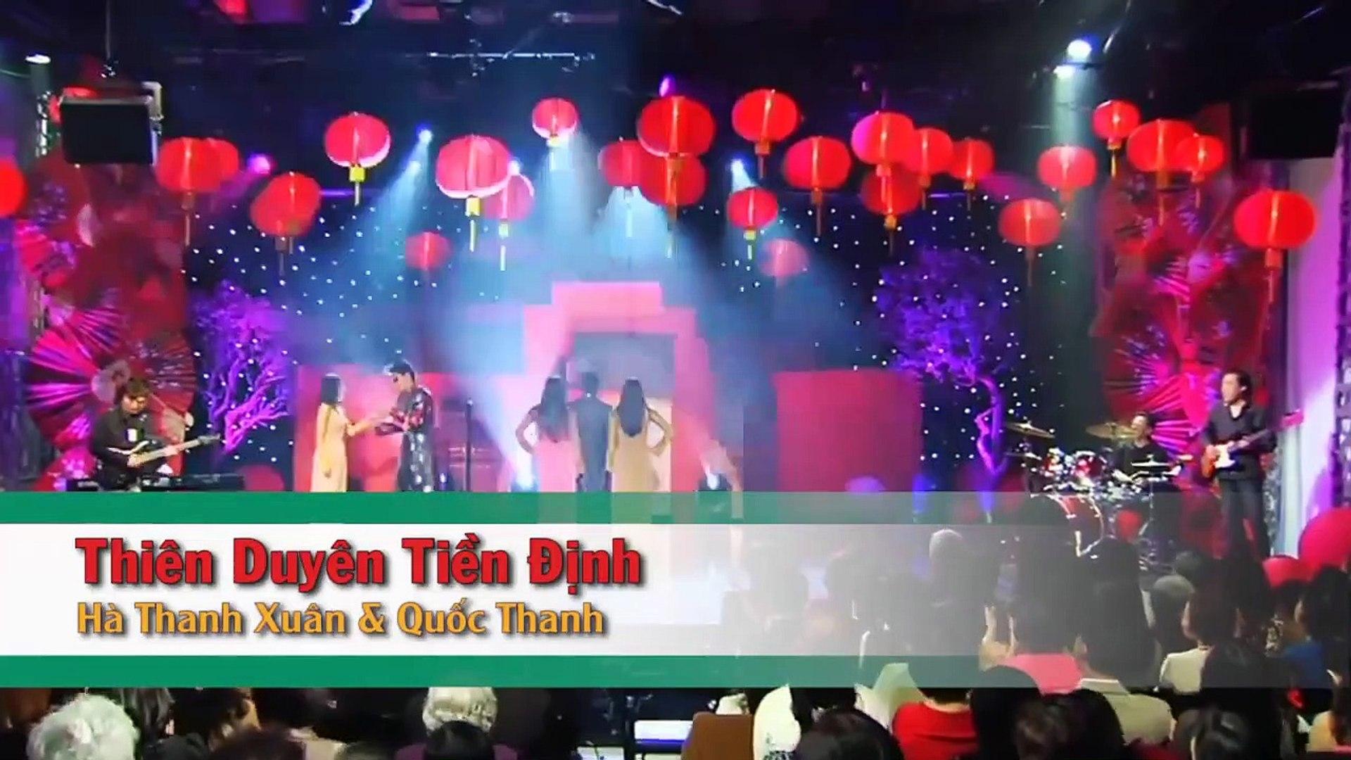 [Karaoke] Thiên Duyên Tiền Định - Quốc Khanh Ft. Hà Thanh Xuân [Beat]