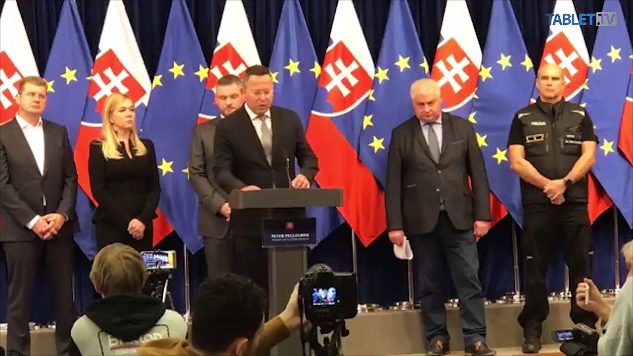 ZÁZNAM: Brífing predsedu vlády SR Petra Pellegriniho k štrajku autodopravcov