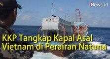 Video KKP Tangkap Tiga Kapal Asal Vietnam di Perairan Natuna