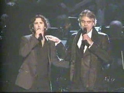 Josh Groban & Andrea Bocelli - The Prayer (2008)