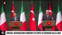 Libia, Conte ed Erdogan insieme ad Ankara per il Cessate il fuoco ,  Notizie it