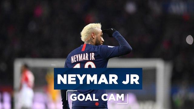 Goal cam : Paris Saint-Germain - AS Monaco