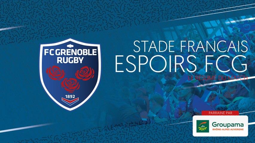 Rugby : Video - Stade Français - Espoirs FCG : le résumé vidéo