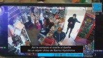 Así le cortaron el cuello al dueño de un supermercado chino de Barrio Hipódromo
