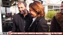 Municipales : l'acteur Moussa Maaskri sera tête de liste LR dans les 15e et 16e arrondissements de Marseille
