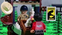 LEGO Jurassic World STOP MOTION LEGO Baryonyx Attack - LEGO Jurassic World - By Billy Bricks