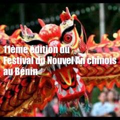 Festival du nouvel an Chinois  : Menu de la 11ème édition au Bénin