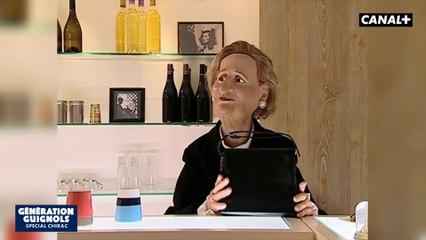 En aparté spéciale Chirac et Bernadette
