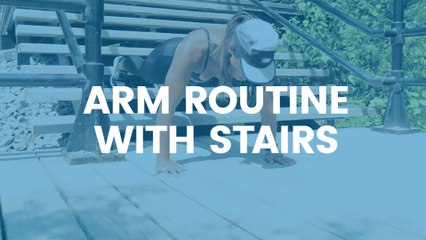 Camille DG - Arm Routine with Stairs