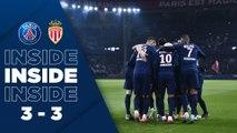 Inside: Paris Saint-Germain v AS Monaco