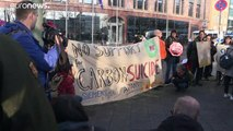 Neue Demos und verhärtete Fronten im Siemens-Konflikt