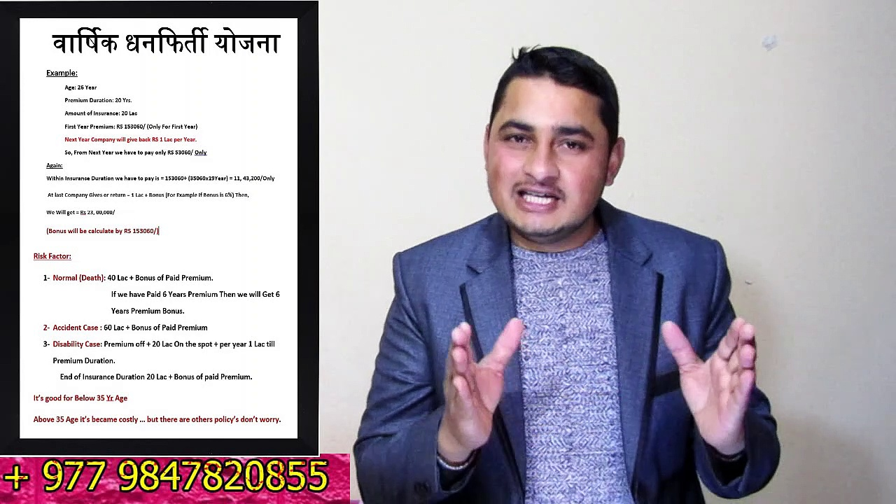 Life Insurance ।। Best Life Insurance Policy ।। Mahalaxmi Life Insurance