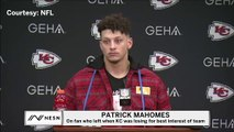 Patrick Mahomes Responds To Fan Who Left Chiefs-Texans Game With Hilarious One-Liner