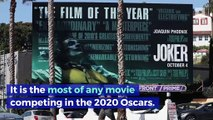 'Joker' Secures 11 Academy Award Nominations