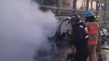 부산서 달리던 1톤 트럭에 불...인명 피해 없어 / YTN