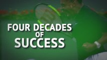 Serena Williams - Four decades of success
