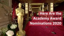 The Big Nominations Of The 2020 Oscars