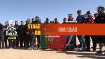 Dakar 2020 - Stage 8 (Wadi Al-Dawasir / Wadi Al-Dawasir) - Bike/Quad Summary