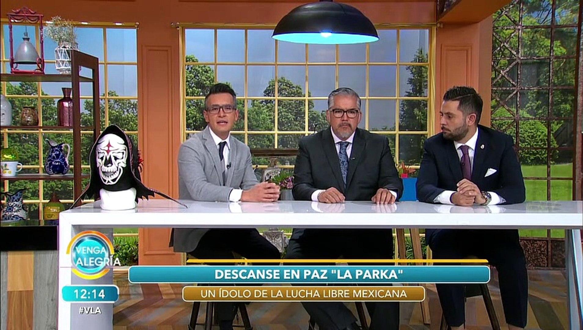 Karis La Momia Jr. hijo de La Parka, revela la promesa que le hizo a su padre.   Venga La Alegría