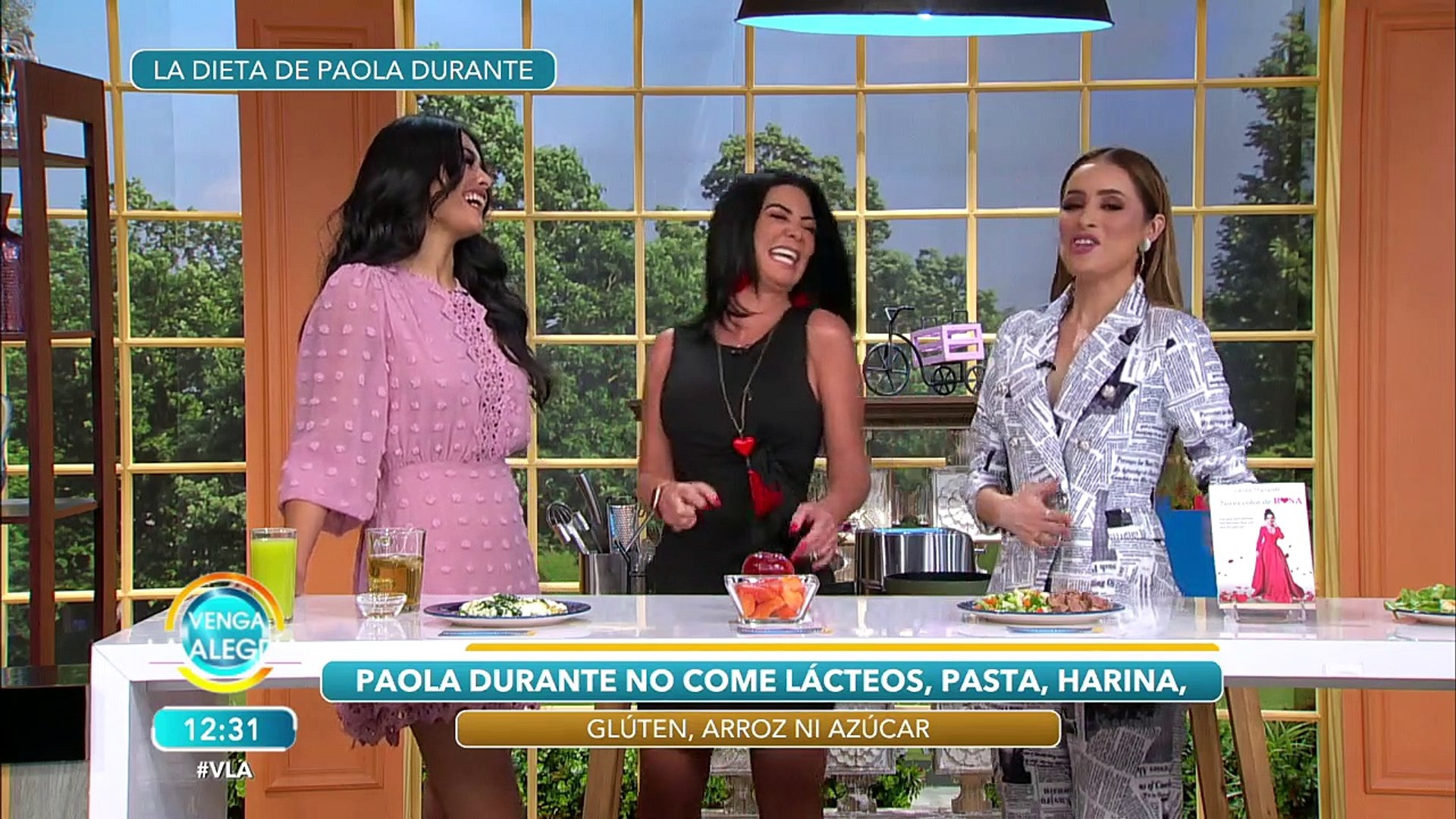 ¡Paola Durante comparte su estilo de vida para lucir guapísima!   Venga La Alegría