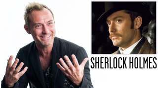 Jude Law Breaks Down His Career, from 'Sherlock Holmes' to 'The New Pope'