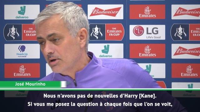 Tottenham - Mourinho ne veut plus parler de Kane