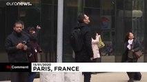Fransız 'Örümcek Adam' emeklilik reformu karşıtı protestolara destek için tırmandı