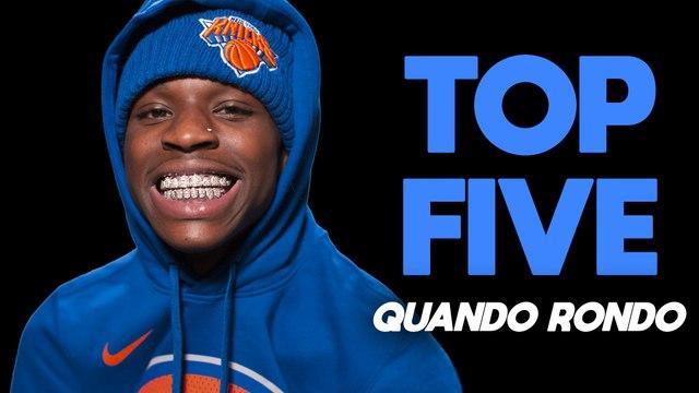 Quando Rondo's top five ways to tie a bandana