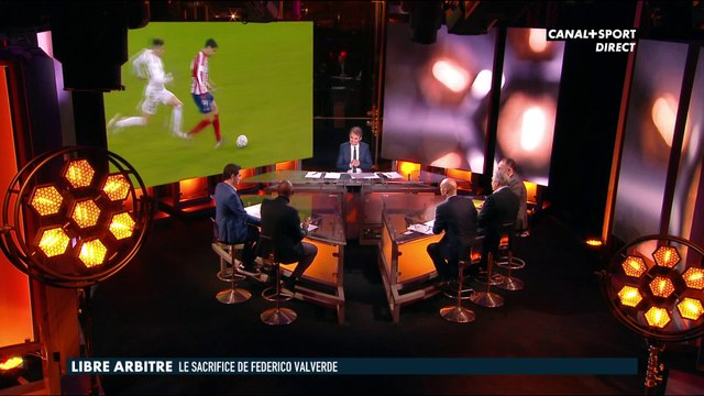 Tony Chapron sur le geste de Federico Valverde - Late Football Club